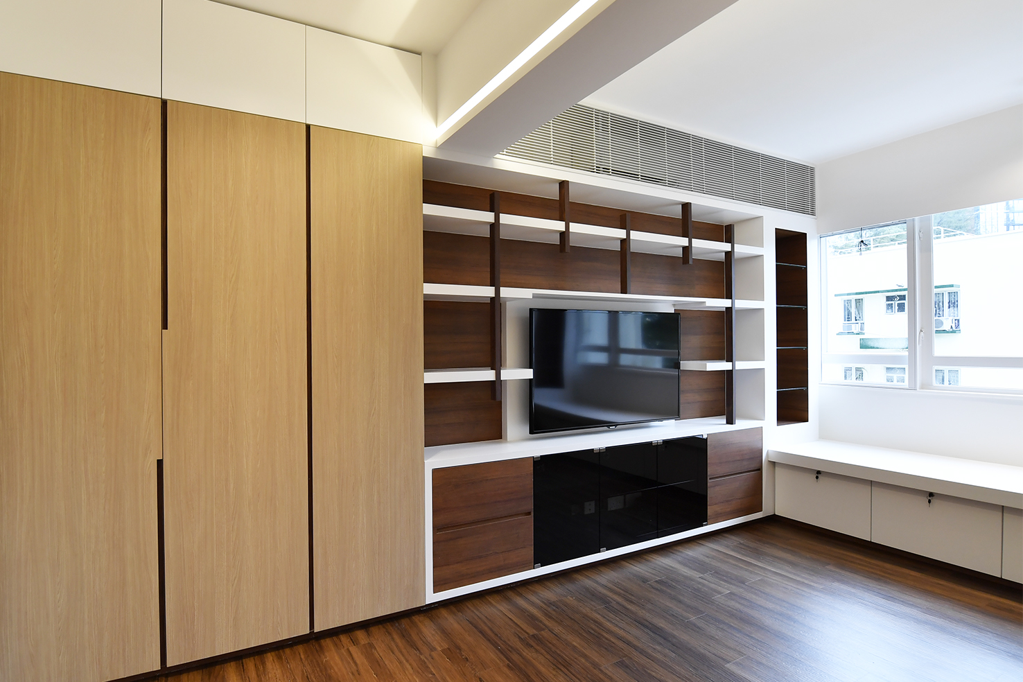 家居設計 Home Design hk 山景觀 Mountain Scape Apartment  (4)