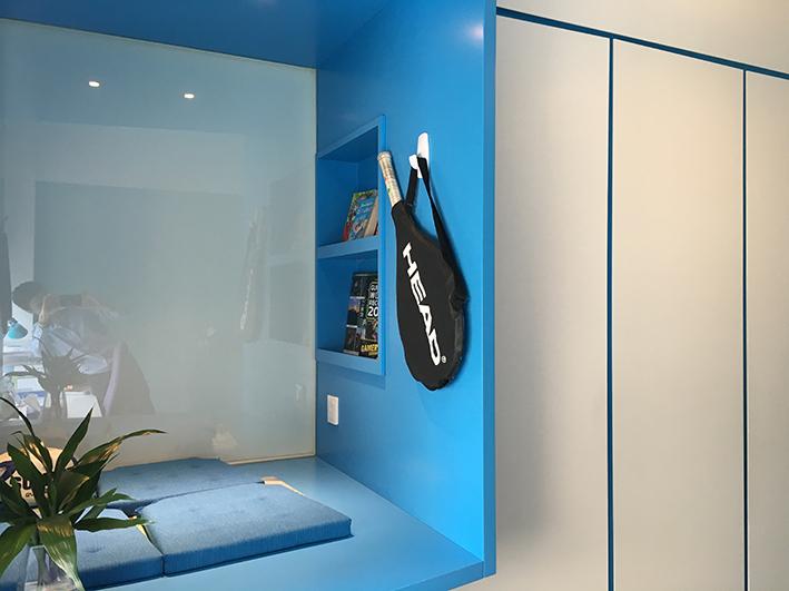 Home Design hk Stephanie Wong Apartment  master bedroom (9)