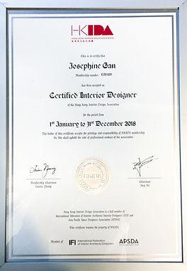 香港室內設計協會 Certified Interior Designer .JP
