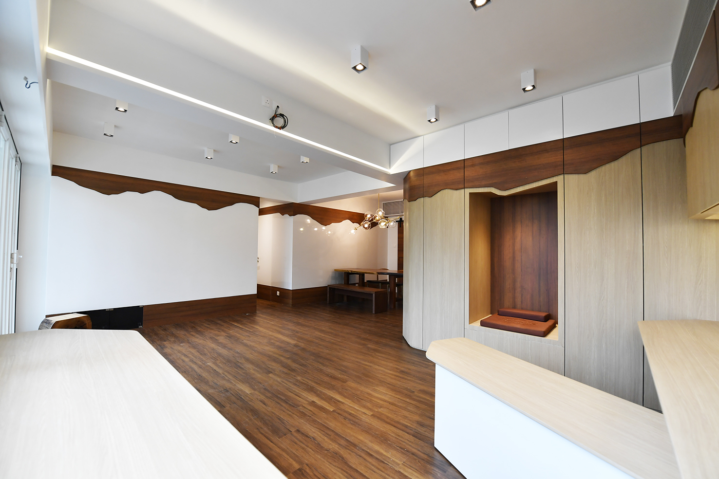 家居設計 Home Design hk 山景觀 Mountain Scape Apartment  (3)