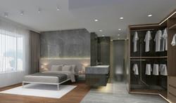 家居設計 雪白分層 Layers of Snow Apartment (4)