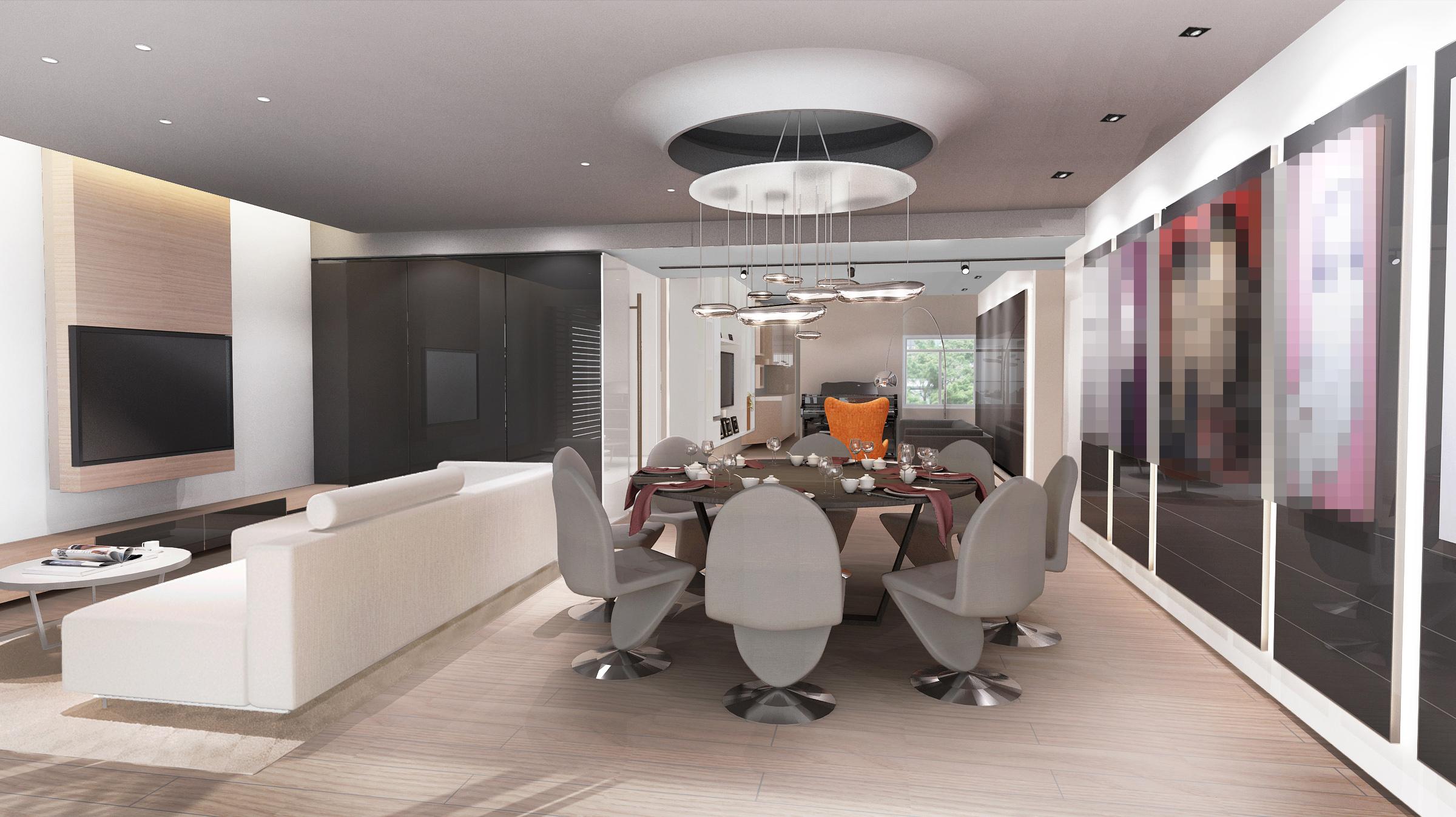 Home Design hk Stephanie Wong Apartment  master bedroom (13)