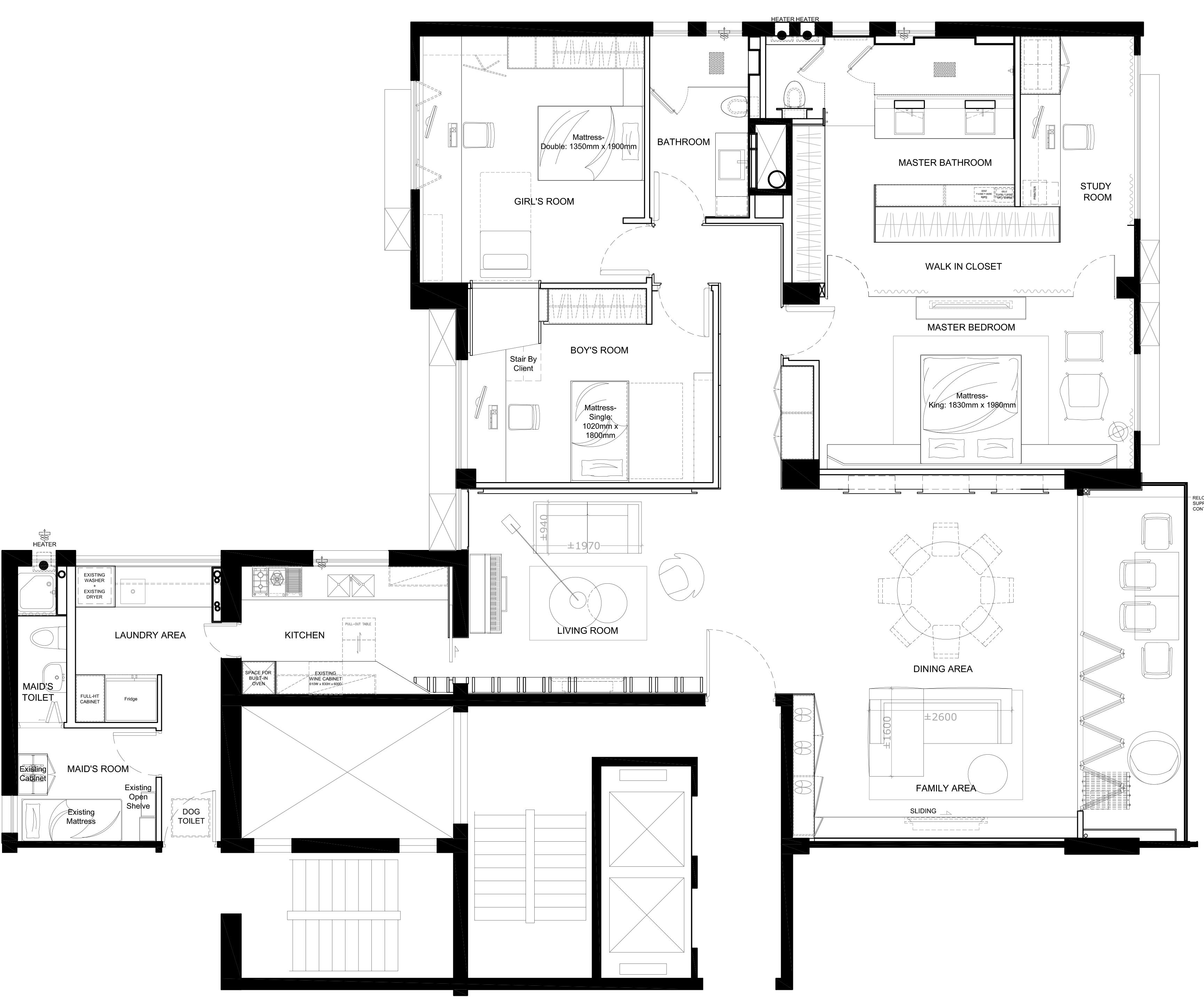 Home Design hk Stephanie Wong Apartment  master bedroom (1)