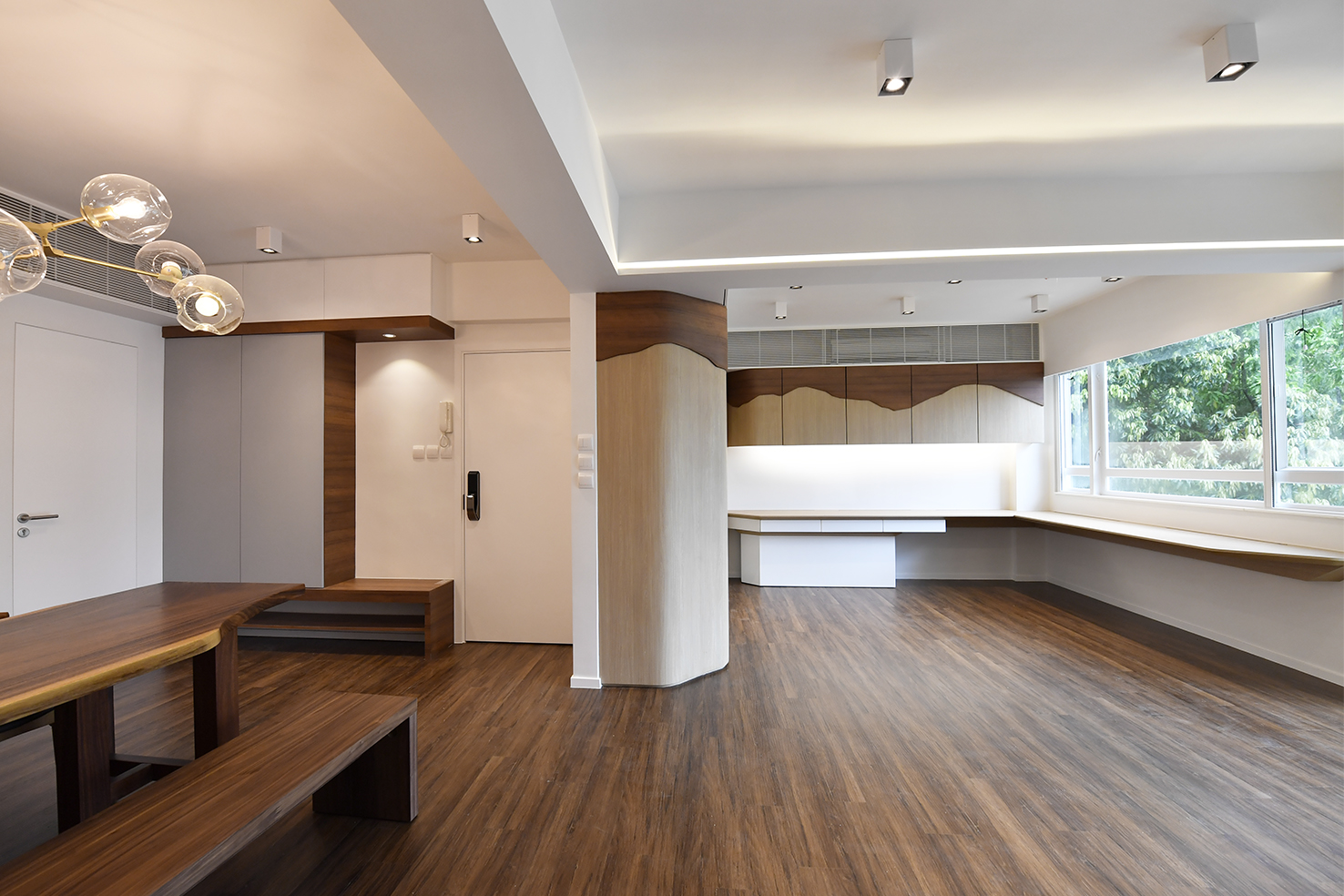 家居設計 Home Design hk 山景觀 Mountain Scape Apartment  (2)