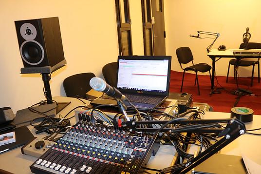 Le studio radio