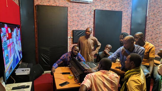 Formation TADIAZT et AfriSCENE au Mali