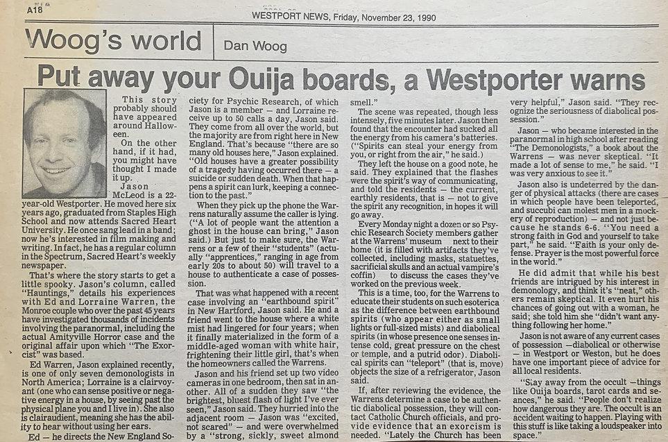 Westport News Article 1990.jpg