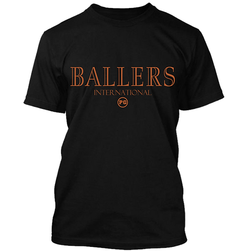 BALLERS - Black w/ Copper Metallic
