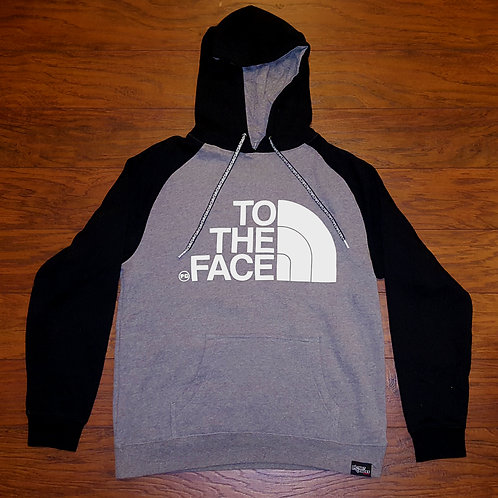 Pullover TO THE FACE - Black/Gray
