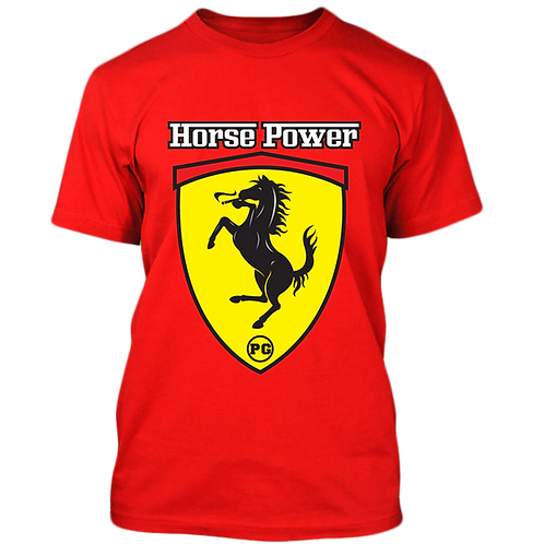HORSE POWER - Red