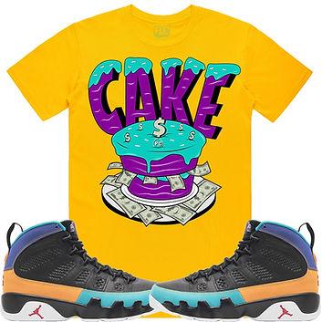 Jordan 9 Dream It - CAKE Golden Yellow.j