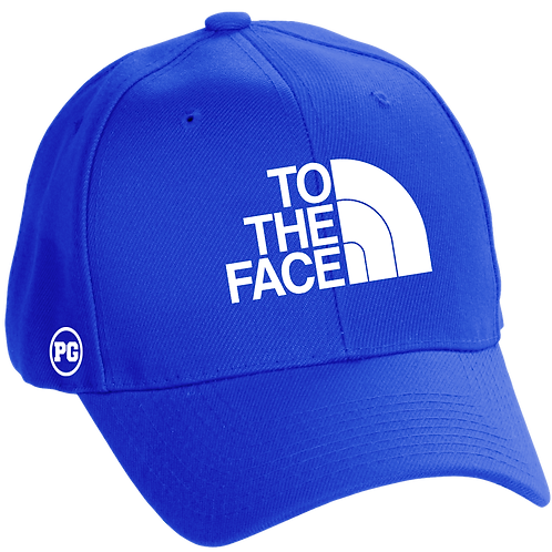 Dad Hat TO THE FACE - Royal Blue