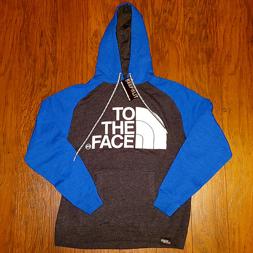 Pullover TO THE FACE - Royal/Charcoal