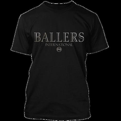BALLERS - Black w/ Silver Metallic