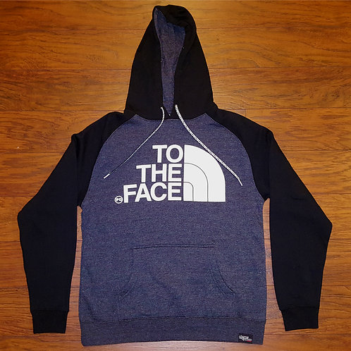 Pullover TO THE FACE - Black/Charcoal