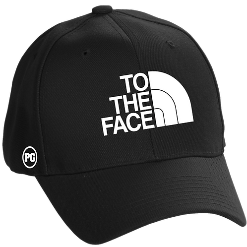 Dad Hat TO THE FACE - Black
