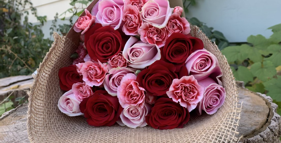 Wrapped Roses