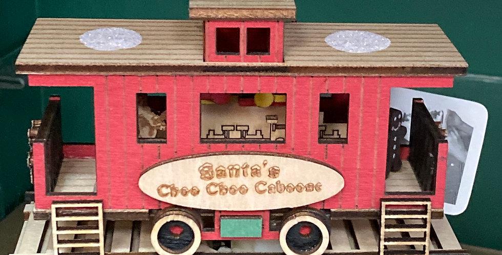Ginger Cottages Santa Caboose