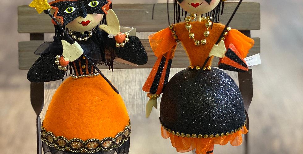 2 asst Witch