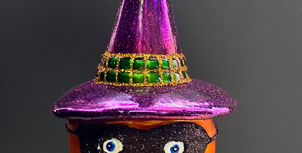Old World Christmas Mask Jack O Lantern 2 asst
