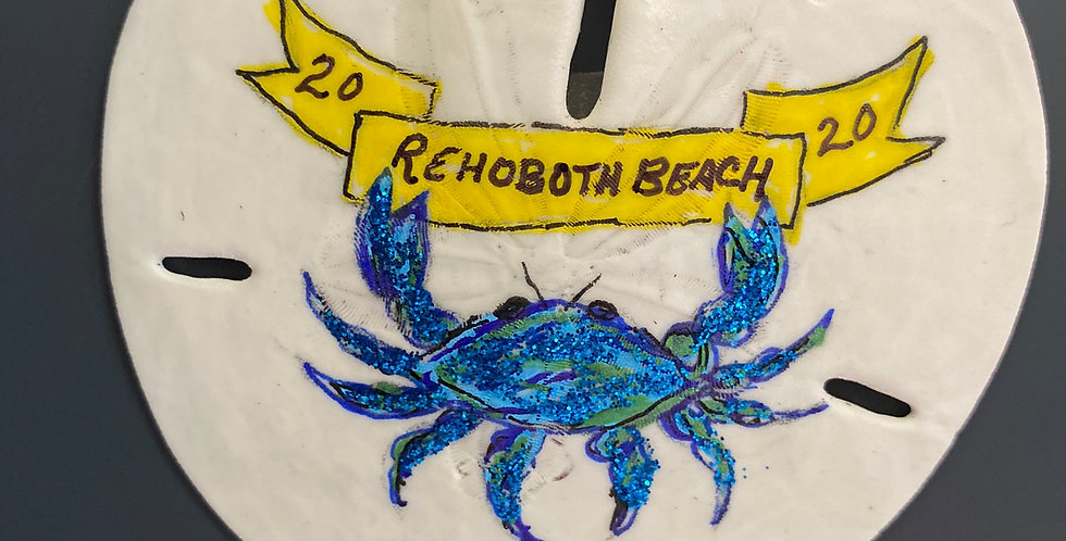 Blue Crab w/ Banner