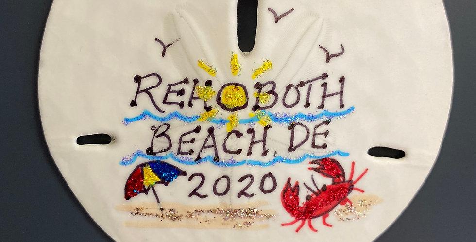 Rehoboth Beach sand dollar