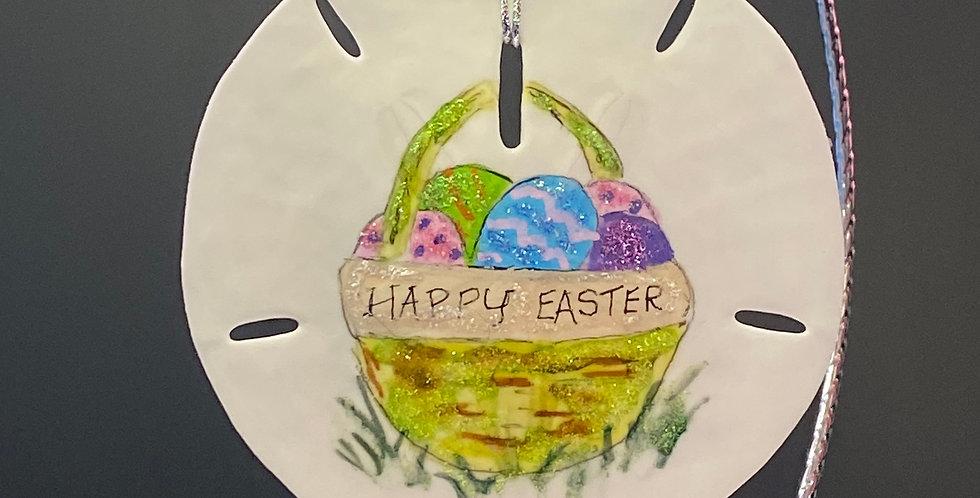 Easter basket sand dollar by Keys