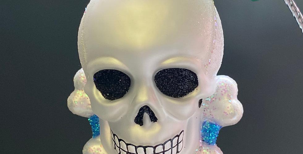 Old World Christmas Skull & Crossbone