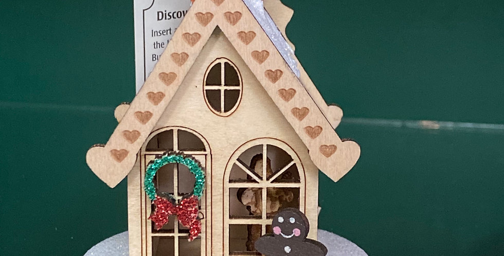 Ginger Cottages Gingerbread house