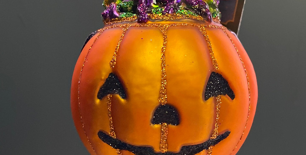 Old World Christmas Trick or Treat pumpkin