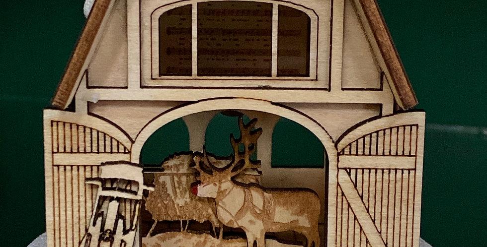 Ginger Cottages reindeer barn