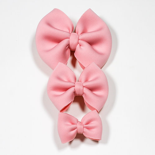 Light Pink Puff Bow