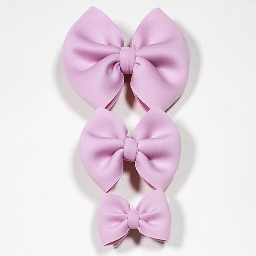 Light Purple Puff Bow