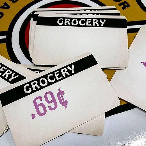 GROCERY Eggshell Sticker