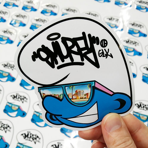"""3""""x3""""  Gloss Vinyl Sticker"""