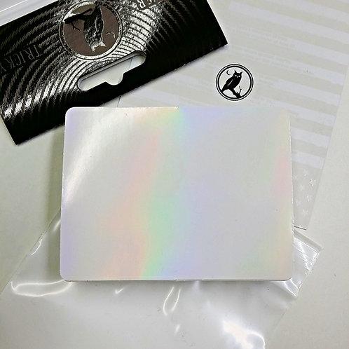 White Alice Eggshell Sticker - 50 Count