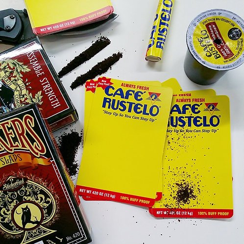 Café Rustelo Eggshell Sticker