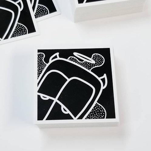 """4.5""""x4.5""""  Gloss Vinyl Sticker"""