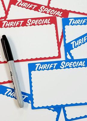 Thrift Special Eggshell Blank