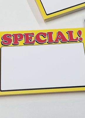 SPECIAL! Eggshell Blank