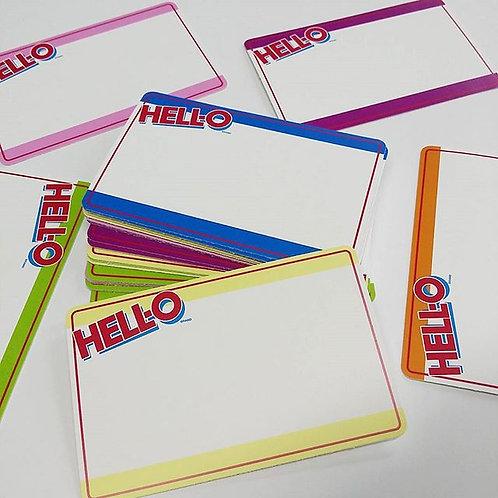 HELL-O Eggshell Sticker