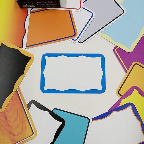 Borders Eggshell Sticker