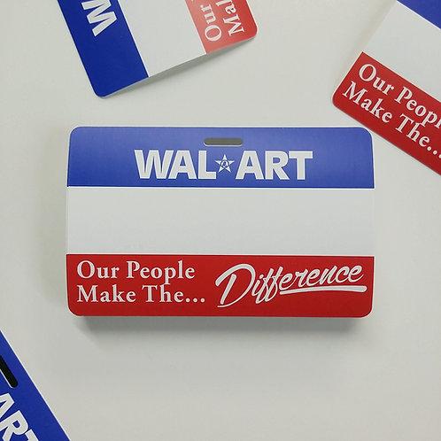 WAL-ART Eggshell Sticker