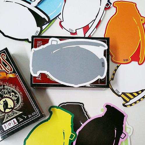 SPLODE Eggshell Sticker