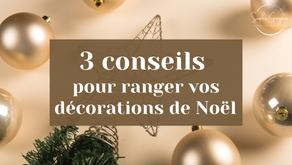 3 conseils pour ranger les décorations de Noël ! 🎄