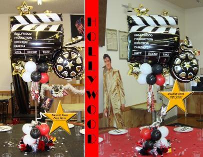 Phenomenal Hollywood Theme Balloon Decor Interior Design Ideas Truasarkarijobsexamcom