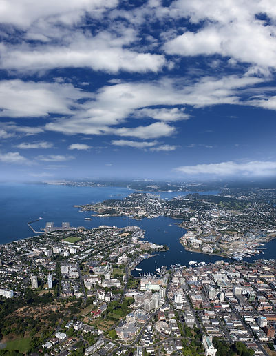 Victoria - city and Inner Harbour, Vanco