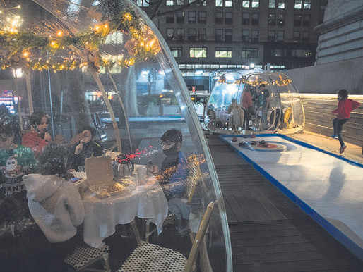 Igloos and iceless curling: How New York hopes to fight off a grim winter