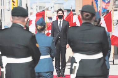 Trudeau promises bold plan to reset Canada, and his political career