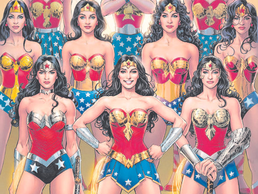 Wonder Woman and her evolving look